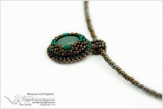Photo: Miniature with Nephrite - Мініатюра з нефритом