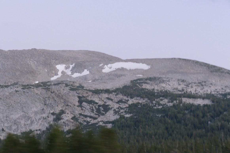 Yosemite - Snow Mountain
