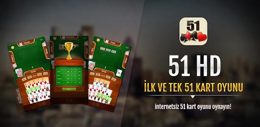 51 HD Okey Kağıt Oyunu for PC