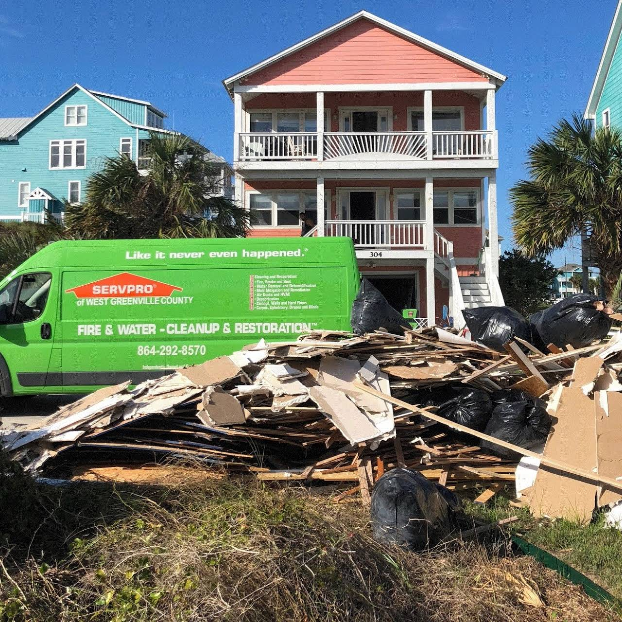 Servpro Of West Greenville County Water Damage Restoration Service