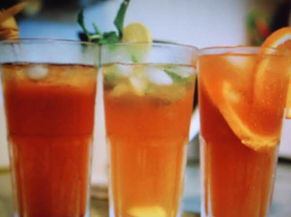 Orange Lemon Mint Tea Recipe