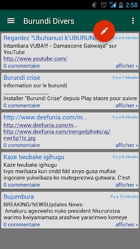 Burundi Opinions