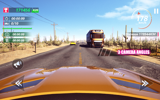 Traffic Fever-Racing game apktram screenshots 8