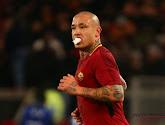 Nainggolan bijt in het zand tegen Milan