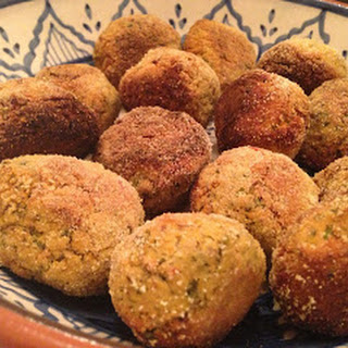 Fava Bean and Carrot Falafels