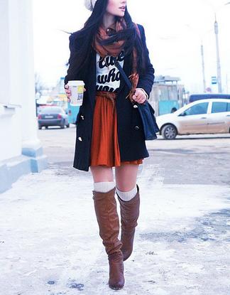 冬のファッションスタイル