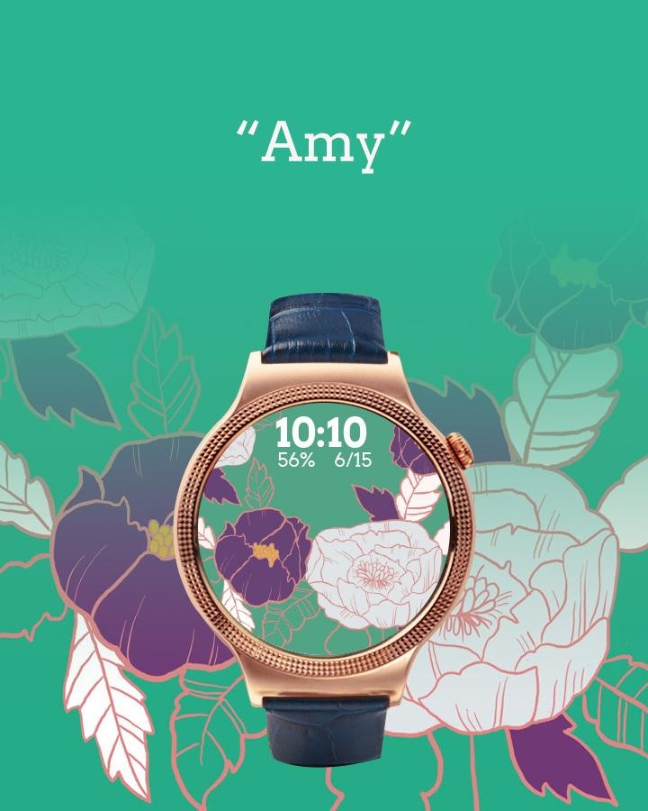 Floral Watch Face- screenshot