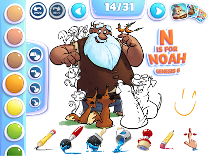 Bible Coloring for Kids - Android Apps on Google Play