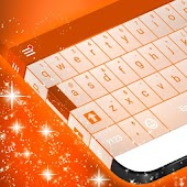 Orange Keyboard Theme
