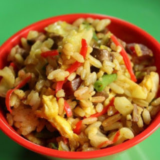 Curry Fried Rice.