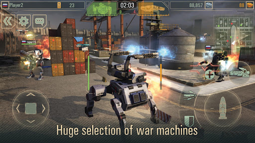 WWR: Warfare Robots Game 3.23.1 de.gamequotes.net 4