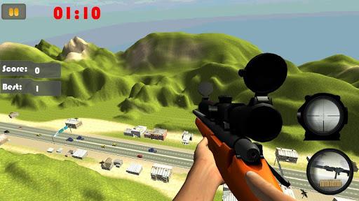 Sniper Road Traffic Shooter 3D