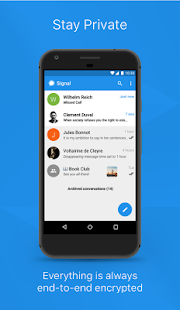 Signal Private Messenger – Vignette de la capture d'écran