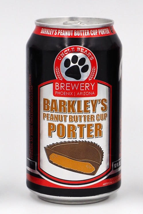 Logo of Uncle Bear's Barkley's Peanut Butter Cup Porter