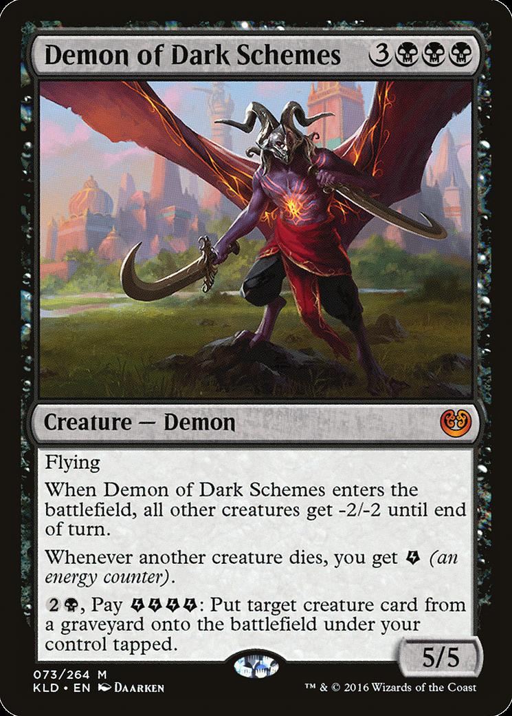 Demon of Dark Schemes  MTG Card