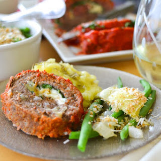 Italian Meatloaf Roulade
