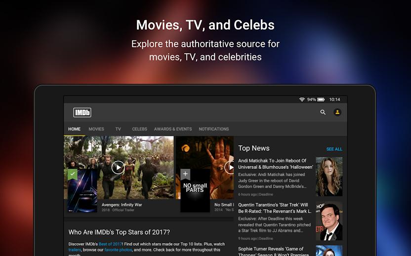 Screenshot 13 for IMDb's Android app'