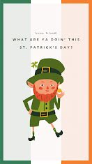 Leprechaun Friend - Facebook Story item