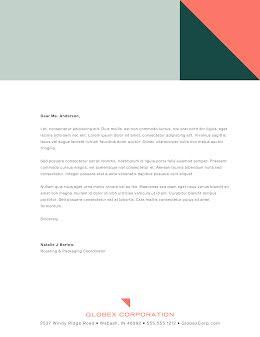 Globex Corp - Letterhead item