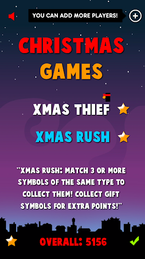 Screenshot for Christmas Games 2 in 1 in United States Play Store