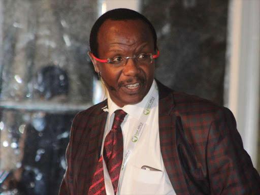 Economist David Ndii during an investment summit in Nairobi. /