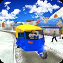 Drive Snow Tuk Tuk Rickshaw icon