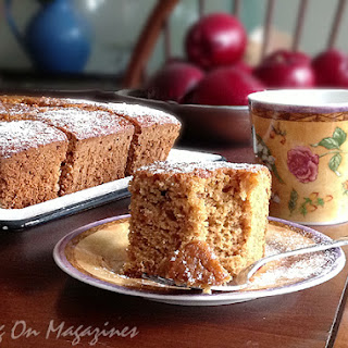English Gingerbread Cake from Saveur Magazine, November 2009 (and a Giveaway)
