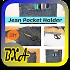 DIY Recycled джинсы Идеи icon