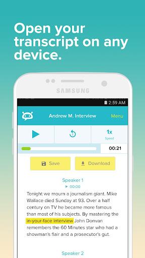 Temi - Record and Transcribe by Rev com, Inc (Google Play