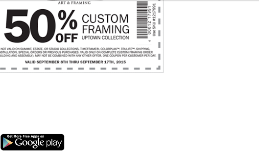 Arts and crafts coupons