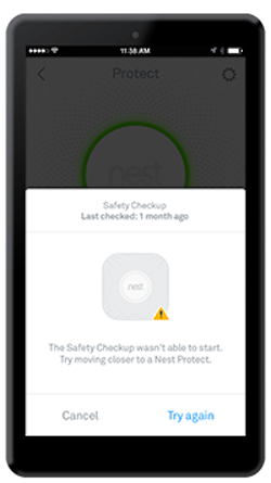 Nest app safety image.