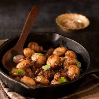 Garlic & Pepper Mushroom Stir Fry
