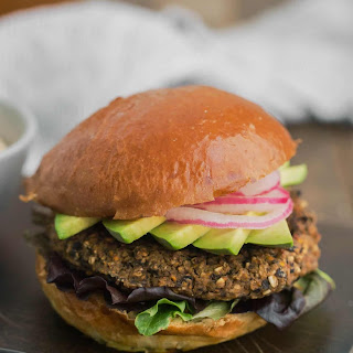 Black Bean Burger.