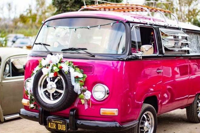 1970 Customized VW Bus Hire CA