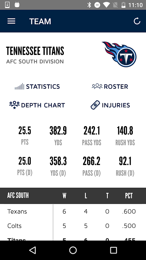 Tennessee Titans Mobile- screenshot