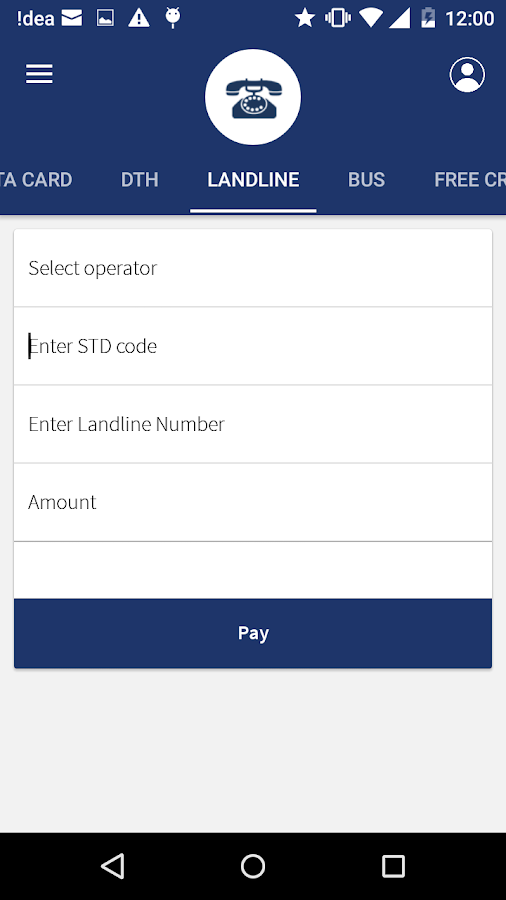 Mobile Recharge, Bill Payment- screenshot