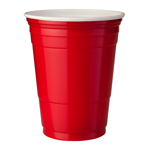 Rote Becher (Red Cups 16 oz.)
