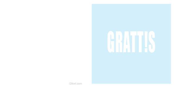 GRATT!S -blå