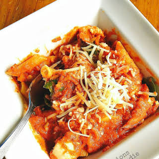 Chicken in Vodka Sauce {21 Day Fix}.