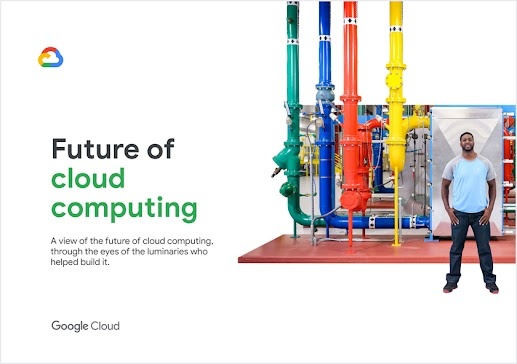 Image of Google's free report on the future of cloud computing