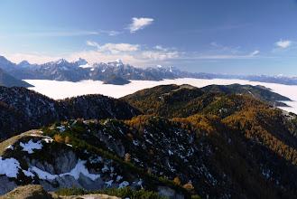 Photo: pogled na zahod z vrha