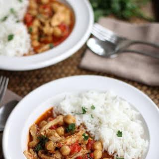 Lebanese Chickpea Stew.