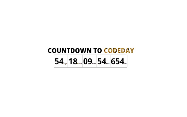 Countdown to CodeDay