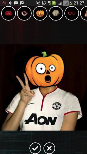 Helloween Pumpkin Face Editor