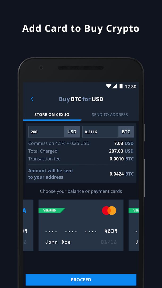 CEX.io – crypto exchange