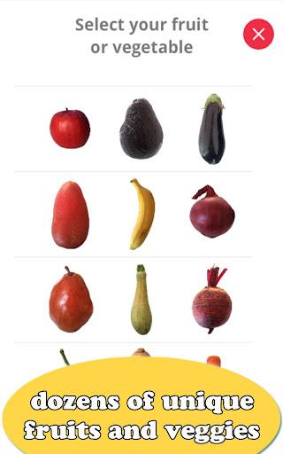 Fruit Draw: Sculpt & Peel Veggies Art Screenshot