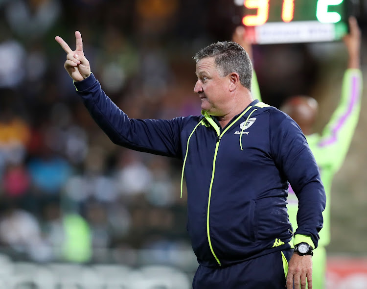 Gavin Hunt, Coach of Bidvest Wits during the Absa Premiership 2018/19 match between Bidvest Wits and Kaizer Chiefs at the Bidvest Stadium, Johannesburg on 09 January 2019.