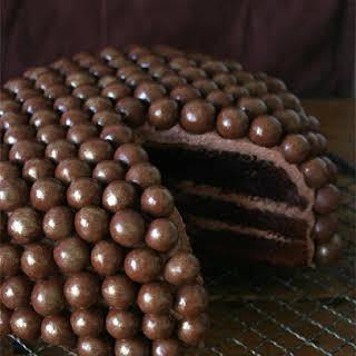 Chocolate Christmas cake.
