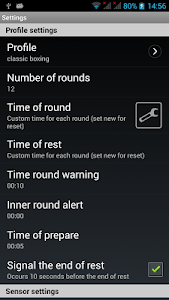 Boxing Interval Timer screenshot 1
