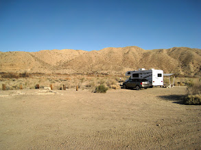 Photo: Morning in the Afton Canyon campground. We're finally rested from the long trip yesterday and ready to hit the trails.